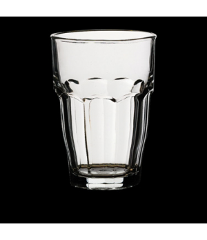"Bar Beverage, 12-1/2 oz., 3-1/4"" x 4-3/4"", tempered & stackable glass, tempered,"