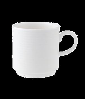 Mug, stackable, premium porcelain, Perimeter