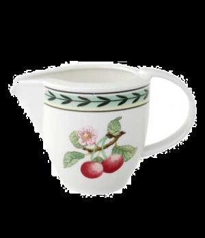 Creamer #4, 8-1/2 oz., premium porcelain, French Garden-Dampierre (Special Order