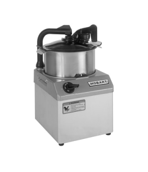 Food Processor, 6 qt. bowl design, 1725 rpm, stainless steel bowl, see-thru cove