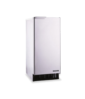 Ice Maker With Bin, air-cooled, self-contained condenser, approximately 92-lb ic