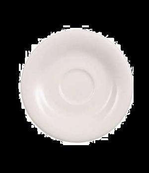 "Saucer, 5-1/8"", (cup OCR's -1450/51), premium porcelain, Dune"