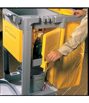 Janitor Cart Locking Cabinet , for 6173 and 6173-02 carts, assembly required
