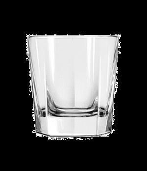 """Rocks Glass, 9 oz., DuraTuff®, INVERNESS, (H 3-1/2""""; T 3-1/4""""; B 3-1/8""""; D 3-3/8"""