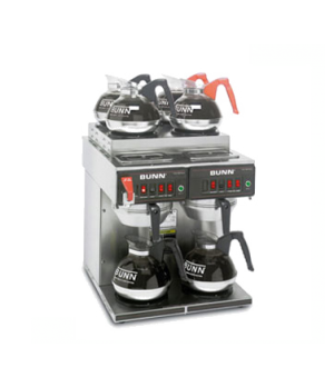 23400.0011 CWTF4/2 TWIN Coffee Brewer, automatic, with 2 lower and 4 upper warme