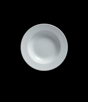 """Soup Bowl, 10 oz., 9"""" dia., round, rimmed, Varick Cafe Porcelain (Canada stock i"""
