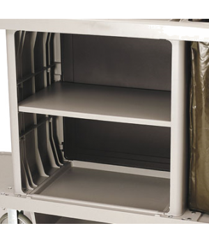 "Xtra™ Adjustable Shelf Kit, 30-1/8""L x 18-1/2""W x 2-1/4""H, platinum"