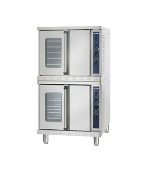 Platinum Series Convection Oven, Electric, stacked, standard depth, manual contr