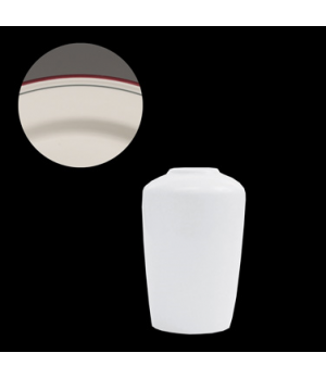 Madison Bud Vase, vitrified china, Performance, Simplicity, Cabernet (UK stock i