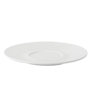 "Saucer, 6.7"" (17 cm), porcelain, microwave and dishwasher safe, edge chip resist"