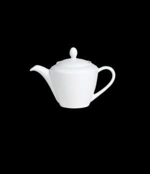 Madison Teapot, 30 oz., Lid 1, vitrified ceramic, Performance, Simplicity, White
