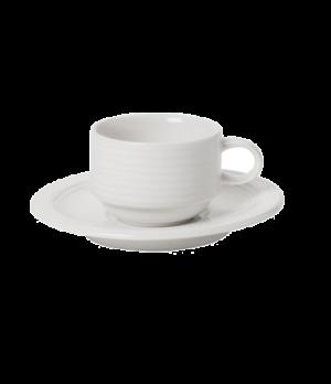 Cup #8, 3-1/2 oz., stackable,  premium porcelain, Sedona Fuction