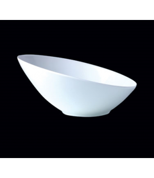 "Bowl #3, 14 oz., 7"" dia., round, slanted, Distinction, Sheer, Monaco White (Cana"