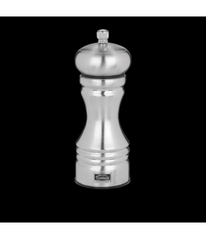 "Pepper Mill, 6""H, stainless steel, Trudeau (priced per case, packed 4 each per c"