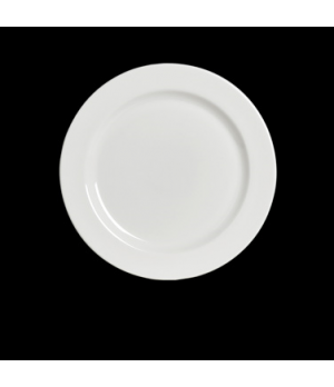 "Plate, 7-1/2"" dia., round, rimmed, rolled edge, Anfora, American Basics (USA sto"