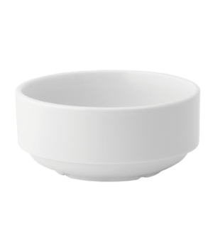 Soup Bowl, 10 oz. (296ml), round, stacking, microwave & dishwasher safe, Pure Wh