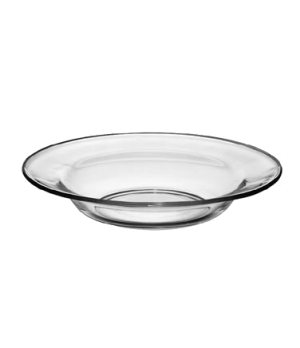 "Soup/Salad Plate, 23-1/2 oz., 9"" dia., round, deep, glass, tempered, MODERNO (H"