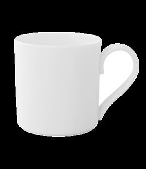 A.D. Cup, 2-1/2 oz., premium bone porcelain, Modern Grace