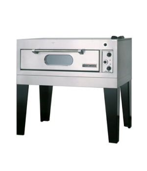 "Bake Oven, Deck-Type, electric, single deck, interior dimensions 39"" W x 28-1/4"""