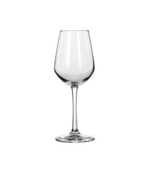 "Wine Glass, 12-1/2 oz., tall, Diamond, VINA™, (H 8-5/8""; T 2-1/4""; B 3-1/4""; D 3"