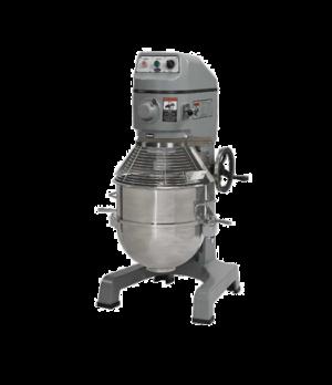 Planetary Mixer, 60 qt., floor model, 3 fixed-speed, #12 hub, front-mounted push