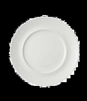 "Plate, 11-3/8"" x 7-1/8"" well, premium porcelain, Marchesi-Sedona"