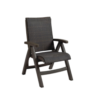 Java Chaise Replacement Frame Only, all weather wicker, espresso