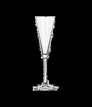 "Trumpet Flute Glass, 6-1/2 oz., VINA™, (H 9-3/4""; T 2-34""; B 3-1/4""; D 3-1/4"")"