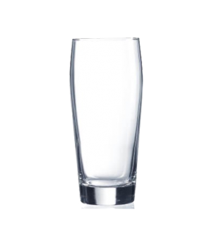 "Tumbler Glass, 21-1/2 oz., glass, Arcoroc, Willi Becher (H 7-1/4""; T 3""; B 2-5/1"