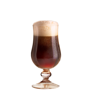 "Belgian Beer Glass, 14-3/4 oz., 6-5/8"" H, glass, fully tempered, Arcoroc (2-3/4"""