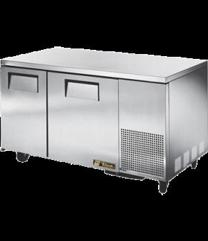 Deep Undercounter Freezer, -10° F, (4) shelves, 16 ga. stainless steel top, (2)