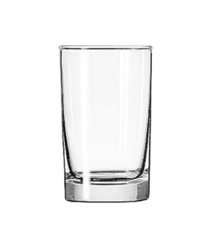 "Split Glass, 6 oz., Safedge® Rim guarantee, heavy base, (H 4""; T 2-3/8""; B 2-1/8"