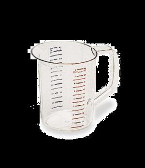 Bouncer® Measuring Cup, 2 qt., -40°F/-40°C to 212° F/100°C temp. range, measurem