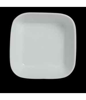 "Ramekin, 3/4 oz., 2"" x 1"", square, Varick Cafe Porcelain (USA stock item) (minim"