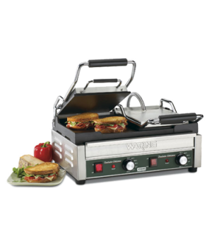 "Tostato Ottimoâ""¢ Dual Toasting Grill, electric, double, 17"" x 9-1/4"" cooking su"