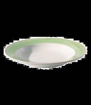 "Soup Plate, 11 oz. (0.30 liter), 9"" (22-1/2 cm), round, rimmed, scratch resistan"