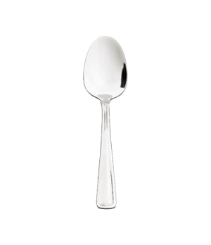 "Royal Soup Spoon, 6-7/8"", round, 18/0 stainless steel, mirror finish"