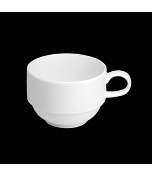 "Coffee Cup, 8 oz., 4-3/4""W x 2-1/2""H, stackable, porcelain, Tria, Wish (minimum"