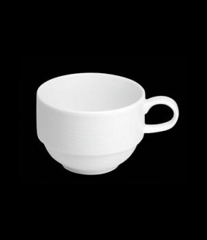 "Coffee Cup, 8 oz., 4-3/4""W x 2-1/2""H, stackable, porcelain, Tria, Wish (minimum"