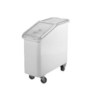 "Ingredient Bin, mobile, 21 gallon capacity, 3"" casters, molded polyethylene with"
