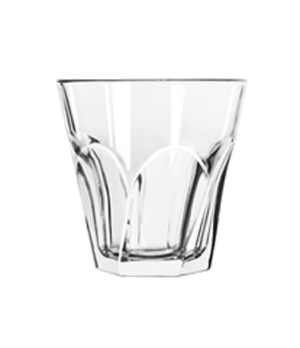 """Twist Double Old Fashioned Glass, 12 oz., DuraTuff®, GIBRALTAR®, (H 4""""; T 4""""; B"""