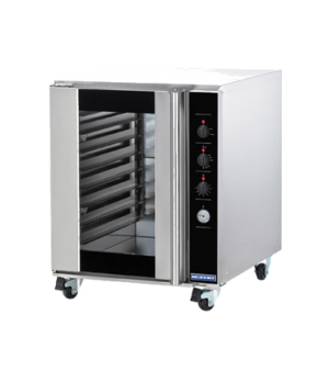 "Turbofan Convection Oven, gas, countertop, compact 28-7/8"" width, (5) full size"