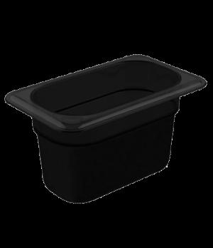 "H-Pan™, 1/9 size, 4"" deep, hi-temp plastic, polysulfone, non-stick surface, won'"