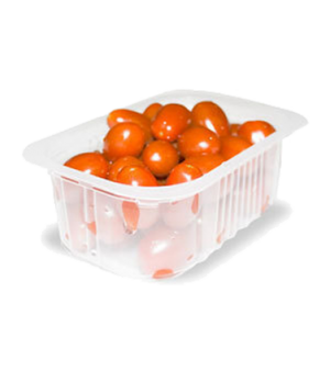 "Orved Thermosealing Machine Containers, 1/2 Gastronorm, 13"" x 10"" H 2.7"",  white"