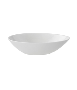 "Bowl, 7-1/2"", oval, deep, premium porcelain, Sedona"