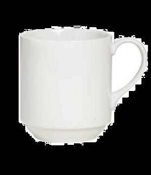 """Mug, 10 oz., 4-1/4""""W x 3-5/8""""H, stackable, porcelain, Rene Ozorio Concerto (USA"""