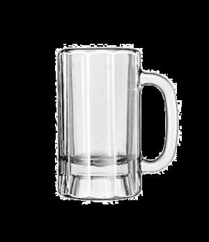 """Mug, 14 oz., paneled, (H 6-1/8""""; T 3-1/2""""; B 3-1/2""""; D 5"""")"""