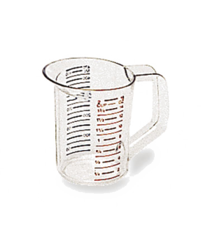 Bouncer® Measuring Cup, 1 pint, -40°F/-40°C to 212° F/100°C temp. range, measure