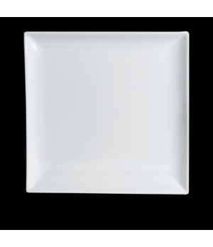 "Plate, 6-1/2"", square, Varick, Café Porcelain (Canada stock item) (minimum = cas"