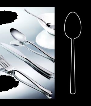 "Dessert Spoon, 7-1/2"", stainless steel, La Tavola, Yuki (USA stock item) (minimu"